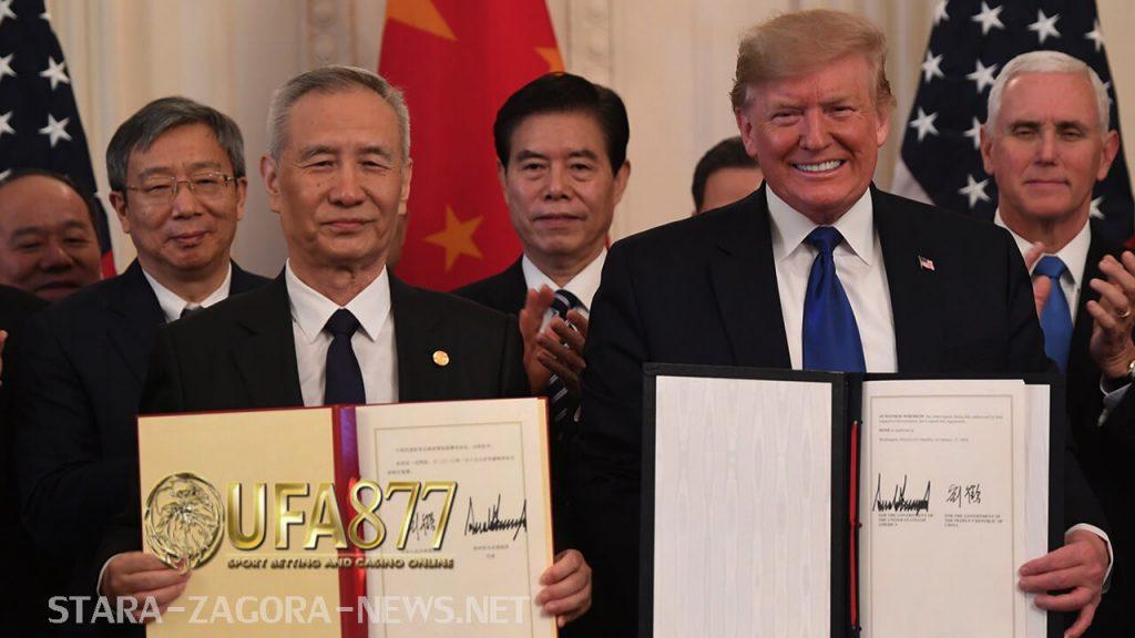 ข้อตกลง กำลังดำเนินต่อไปในเดือนมกราคมถูกมองว่าเป็นข้อตกลง  win-win ตามที่เจ้าหน้าที่จีนระบุ จีนให้คำมั่นที่จะกระตุ้นการนำเข้าของสหรัฐ